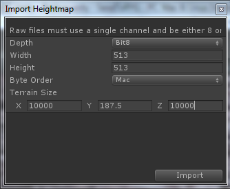 Heightmap creation from OS data  (UK Only) | R3D*